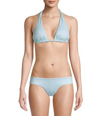 solid lennon bikini top