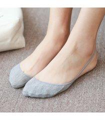 imbracatura inferiore mezza estate mezza estate in cotone stealth calze imbottitura invisibile in bocca calze