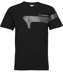1 reflective graphic r t s\s t-shirts short-sleeved svart g-star raw