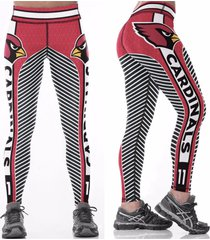 cardinals plus size leggings - #11 women fan gear - high quality - nfl gift