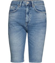 kari longline short shorts denim shorts blå superdry