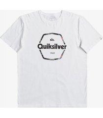 t-shirt korte mouw quiksilver camiseta manga corta hombre eqyzt06327