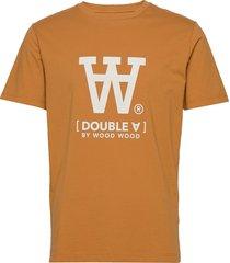 ace t-shirt t-shirts short-sleeved orange wood wood