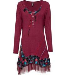 abito di jersey con applicazioni (rosso) - rainbow