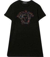young versace black dress t-shirt