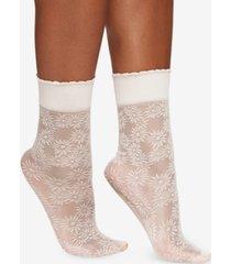 berkshire women's daisy floral anklet socks 5119