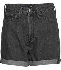 mom short shorts denim shorts svart lee jeans