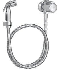 ducha higiênica com registro e derivação spot cromada