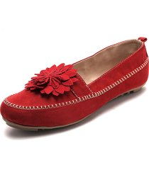 baleta para dama tellenzi p10 rojo