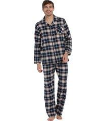heren pyjama flannel pastunette 23202-636-6-3xl/58