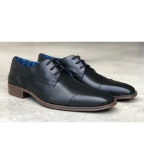 zapato negro brooksfield dandy