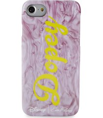 edie parker women's dopey iphone 6/7 case - purple multi