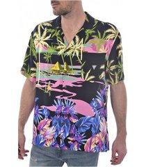 overhemd korte mouw guess f92h03 wo02s