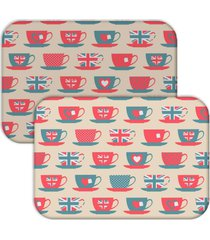jogo americano love decor wevans xãcara love bege - multicolorido - dafiti