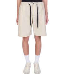 pt01 shorts in beige cotton