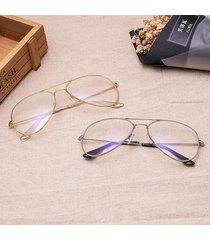 occhiali ottici full frame occhiali anti-blu-ray occhiali retrò antiriflesso di grandi dimensioni