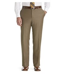 traveler collection slim fit flat front dress pants clearance by jos. a. bank