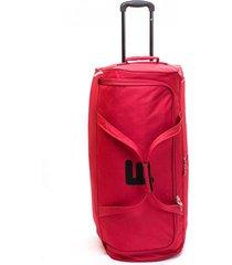 bolso con ruedas maxfit rojo 25 f