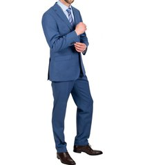 traje formal luxury azul trial