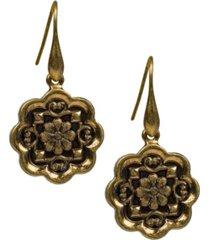 patricia nash flower drop earrings