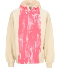 marni paint stripe hoodie
