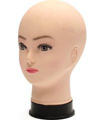 modello della testa di formazione della parrucca di esposizione dei vetri del cappello del mannequin del pvc
