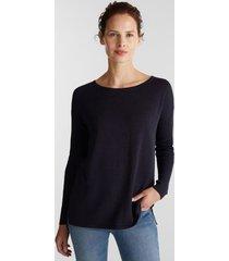 sweater mujer azul marino esprit