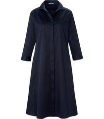 jurk met 3/4-mouwen en overhemdkraag van day.like blauw