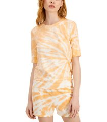 style & co lightweight tie-dyed sweatshirt, created for macy's
