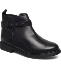 astrol soar y shoes boots ankle boots ankle boots flat heel svart clarks
