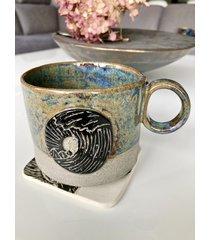 kubek ceramiczny morze