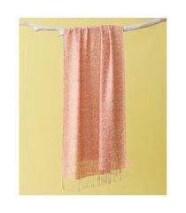 lenço em poliéster e viscose - lenço manhattan cor: vermelho - tamanho: único