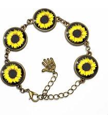 bransoletka - słoneczniki 0388