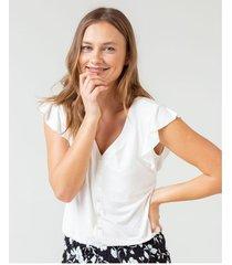 camiseta pijama con volantes