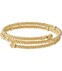 lagos caviar 18k gold coil bracelet, size medium at nordstrom