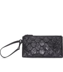 carteira feminina mini pouch - preto