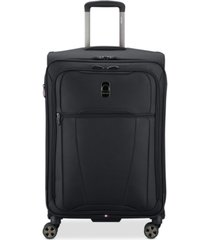 "closeout! delsey helium 360 25"" expandable spinner suitcase, created for macy's"