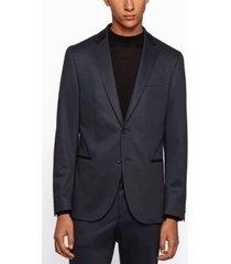 boss men's norwin4 slim-fit jersey jacket