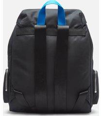 tommy jeans women's tjw fashion nylon backpack - black