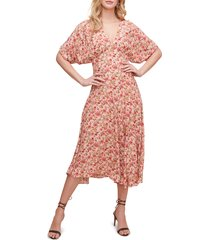 women's astr the label dolman sleeve midi dress