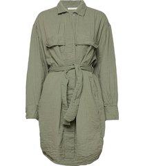 gigi knälång klänning grön rabens sal r