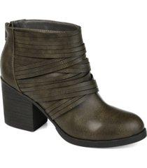 journee collection women's preslee bootie women's shoes