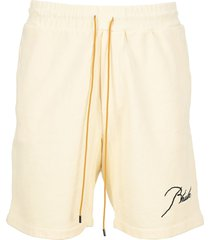 rhude sweat shorts