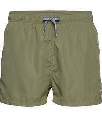 logo swim shorts lightweight zwemshorts groen gant