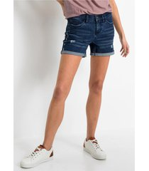 jeans short met borduursel