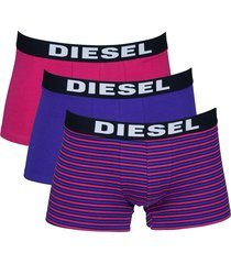 diesel boxershorts shawn 3-pak stripe roze