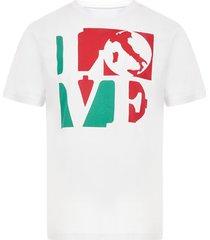 hydrogen love italia t-shirt