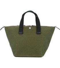 cabas bowler small tote bag - green