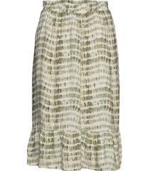 sc-golly knälång kjol multi/mönstrad soyaconcept