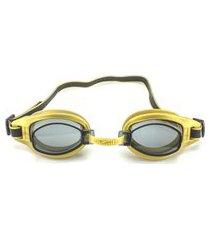 óculos de natação speedo free 3.0 - dourado fume